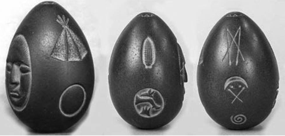 Детальный показ изображений на камне