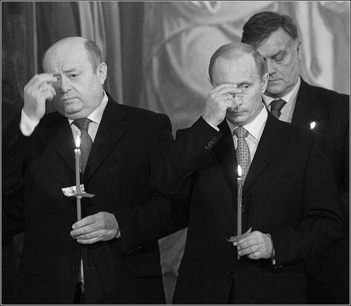 Масонство Путина не обсуждается публично