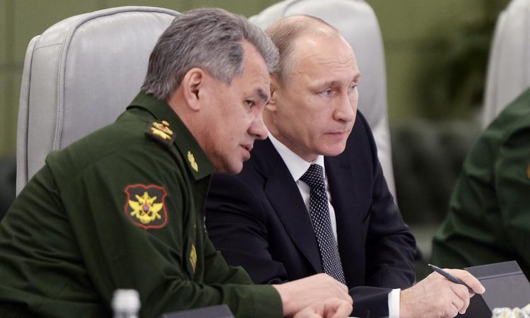 Шойгу и Путин - масоны 33 градуса