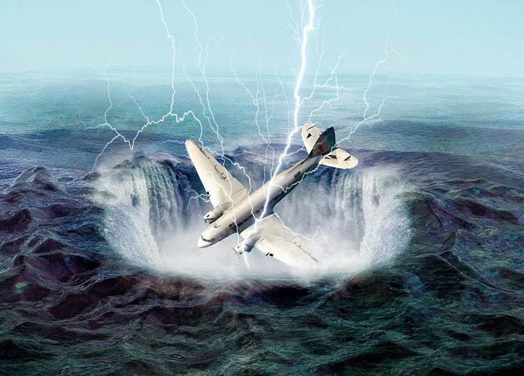 Как выглядит Бермудский треугольник: не иначе как «море дьявола»