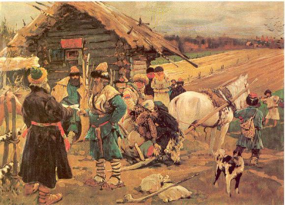 Древняя Русь: истоки вотчины