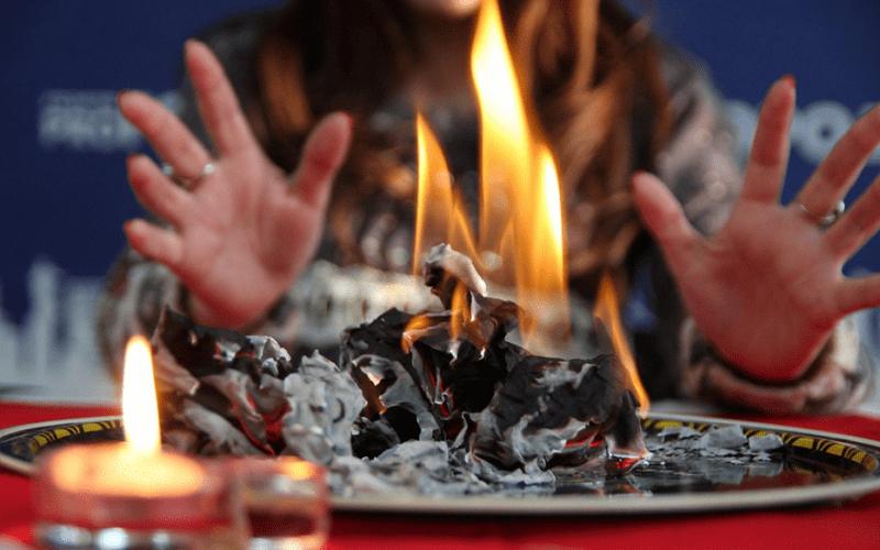 Гадание на огне