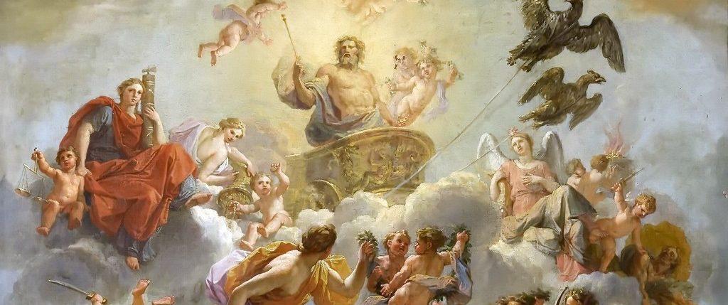 Боги на древнегреческом