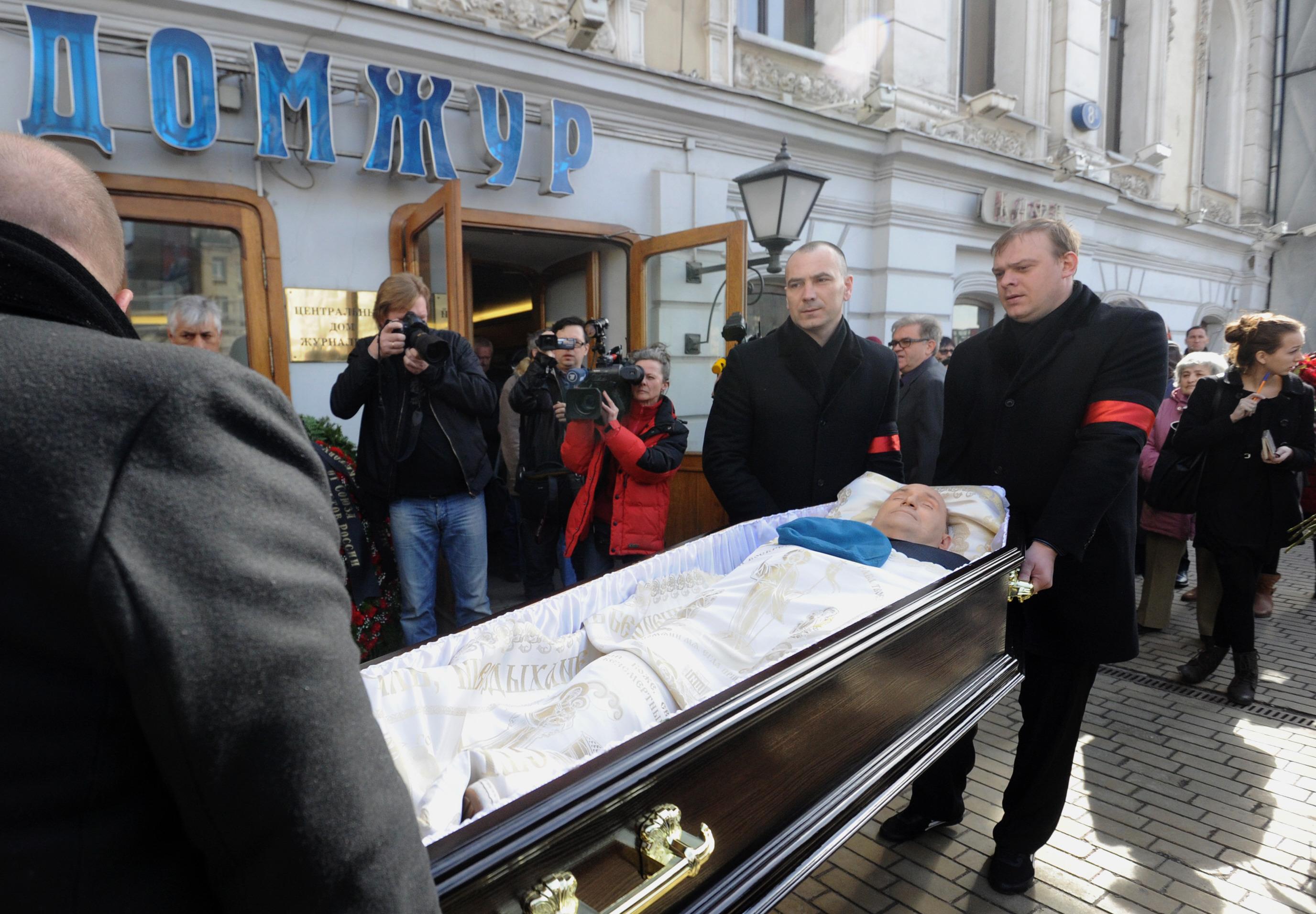 Михаил Круг похороны