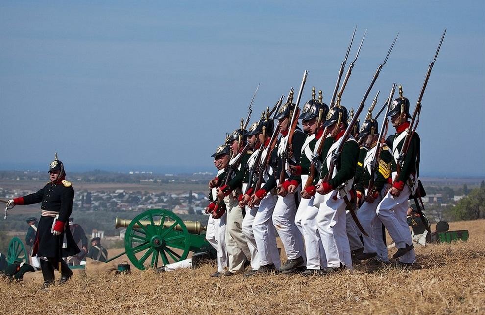 реконструкции исторических сражений