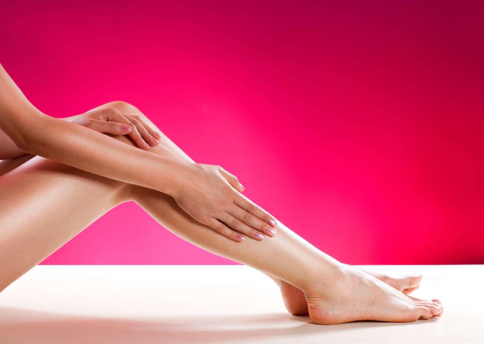 эпиляция ног
