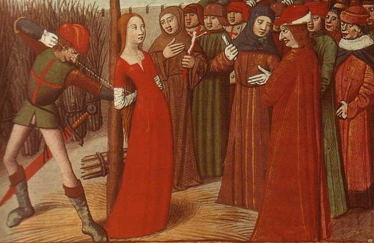 Костры Средневековья