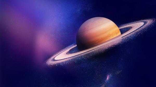 Наблюдение глубин огромной бури на Сатурне