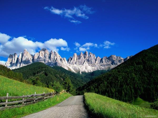 Самые высокие горы Западной Европы