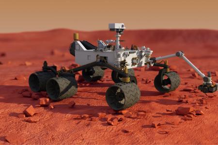 Связь с марсоходом приостановлена - солнце блокирует его передачи