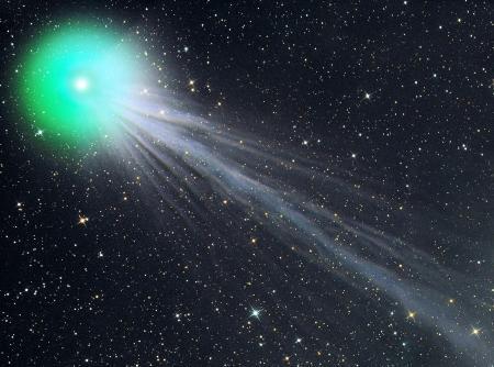 Комета Лавджой - описание, фотографии