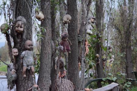 Для любителей мистики - зловещий остров кукол в Мексике